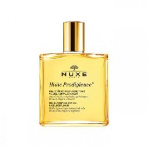 Nuxe Huile Prodigieuse 50 ml Votre huile sèche pour le visage, le corps et les cheveux 100 ml