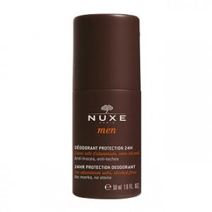 Nuxe Men Déodorant Protection 24 h 50 ml déo pour homme anti-traces et anti-taches Hyperpara