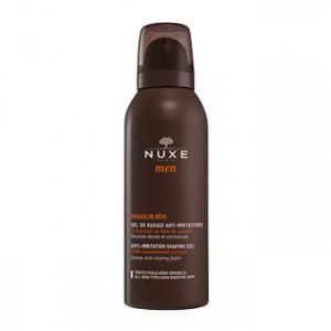 Nuxe Men Rasage de Rêve 150 ml Anti-Irritations hypoallergénique pour toutes les peaux et même les sensibles Hyperpara