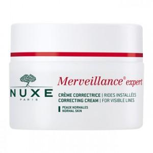 Nuxe Merveillance Expert Crème Correctrice 50 ml le soin anti-âge rides installées pour les peaux normales Hyperpara