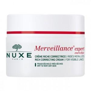 Nuxe Merveillance Expert Enrichie Crème Riche Correctrice 50 ml  votre soin anti-âge rides installées pour les peaux sèches à très sèches Hyperpara