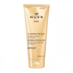 Nuxe Sun Lait Fraîcheur Après-Soleil Visage et Corps 200 ml votre soin solaire qui prolonger votre bronzage Hyperpara