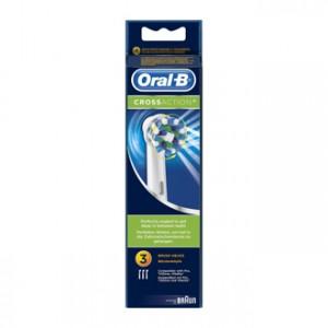 Oral B Cross Action Brossettes Boite de 3