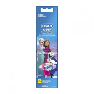 Oral B Stages Power 2 Brossettes de Rechange Extra Soft La Reine des Neiges