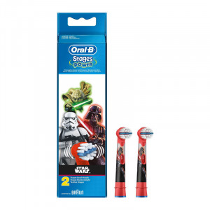 Oral B Stages Power 2 Brossettes de Rechange Extra Soft Star Wars