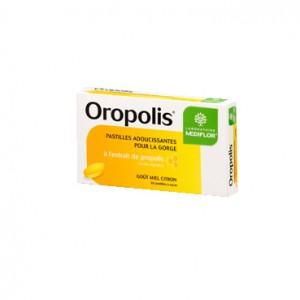 Oropolis Gorge Propolis Goût Miel Citron 20 Pastilles