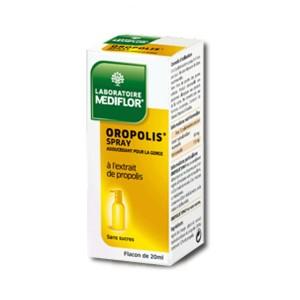 Oroplis - Spray Adoucissant Pour la Gorge - 20 ml