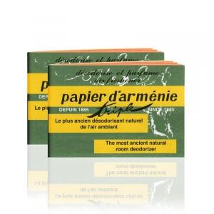Papier d'Arménie Lot de 2 Carnets