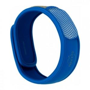 Parakito Bracelet Anti-Moustique Bleu Pour toute la famille Avec 2 recharges soit 2 x 15 jours Résistant à l'eau