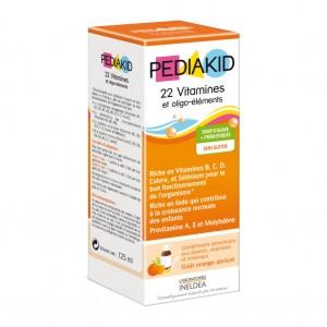 Pédiakid 22 Vitamines et Oligo-éléments - 125 ml