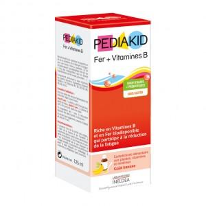 Pédiakid Fer + Vitamines B 125 ml