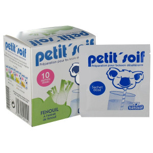 Petit'Soif - Fenouil - 10 Sachets Doses - Bebisol - Hyperpara