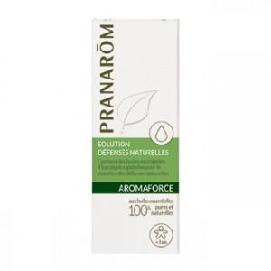 Pranarôm Aromaforce - Solution Défenses Naturelles BIO 5 ml Mini pour l'avoir toujours sur soi A partir de 3 ans 100% aux huiles essentielles biologiques