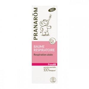 Pranarôm PranaBB - Baume Respiratoire BIO 40g Respiration Aisée  Dès 3mois