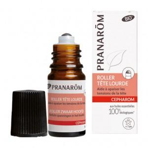 Pranarôm Cepharom - Roller - Tête Lourde BIO - 5 ml Aide à apaiser les tensions de la tête A partir de 7 ans 5420008521898