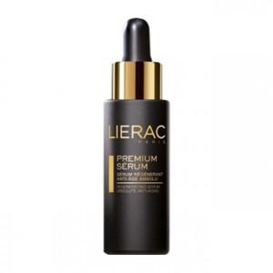 Lierac Premium - Sérum Régénérant Anti-Age Global 30 ml Améliore les pattes d'oies, les rides du contour des lèvres et les rides du front