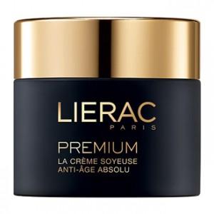 Lierac Premium - Crème Soyeuse Anti-Âge Absolu Jour & Nuit 50 ml Texture légère Crème anti-âge jour et nuit Sans paraben