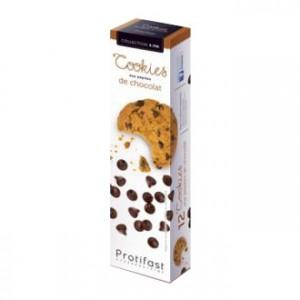 Protifast 4:PM - Cookies aux Pépites de Chocolat - 12 Cookies Riche en protéines