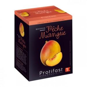 Protifast Boisson Saveur Pêche Mangue 7 sachets Phase 1 Boisson hyperprotéinée Sans gluten Phase Active 1
