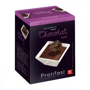 Protifast Entremets Saveur Chocolat Noir 7 Sachets En-cas hyperprotéinés Phase active 1