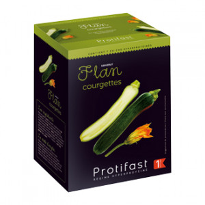 Protifast Flan Courgettes 7 Sachets Phase 1 Préparation hyperprotéinés Phase Active 1