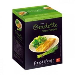Protifast Omelette aux Fines Herbes 7 sachets Phase 1 En-cas hyperprotéiné Sans gluten Phase Active 1 3401579909454