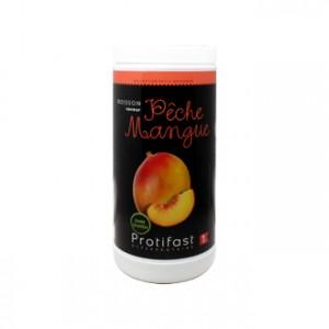 Protifast Boisson Saveur Pêche Mangue 500g Phase 1 Format économique avec dosette Boisson hyperprotéinée Sans gluten Phase Active 1