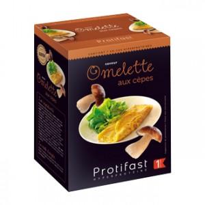 Protifast Omelette Aux Cèpes 7 Sachets Phase 1 En-cas hyperprotéinée Sans gluten Phase Active 1