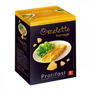 Protifast Omelette Fromage 7 Sachets Phase 1 En-cas hyperprotéinée Sans gluten Phase Active 1