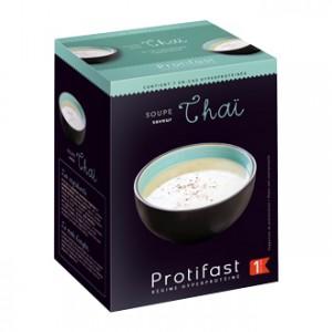 Protifast Soupe Saveur Thaï 7 Sachets Phase 1 En-cas hyperprotéiné Phase active 1