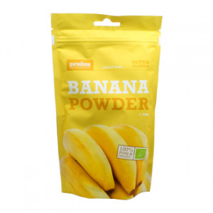 Purasana Super Flavor - Poudre de Banane - Banana Powder BIO 250g