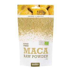 Purasana Super Food - Maca Raw Powder BIO 200g 100% pure et biologique 5400706613231