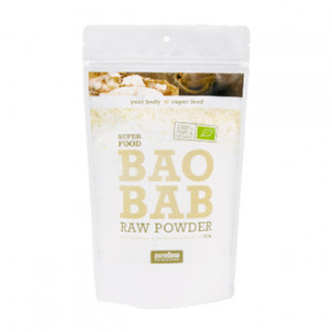 purasana super food poudre de baobab baobab raw powder bio 200g