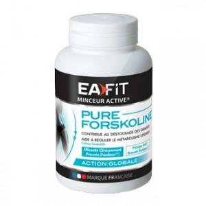 EA Fit Pure Forskoline Amincissement Global Silhouette 60 gélules Contribue au déstockage des graisses Augmente la combustion des calories 30 jours