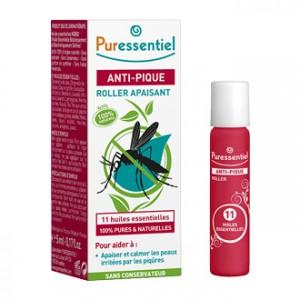 Puressentiel Anti-Pique - Roller Apaisant au 11 Huiles Essentielles 5 ml