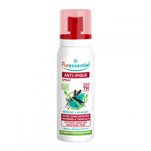 Puressentiel Anti-Pique Moustique Spray Répulsif + Apaisant 75 ml