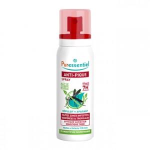 Puressentiel Anti-Pique Moustique Spray Répulsif + Apaisant 75 ml