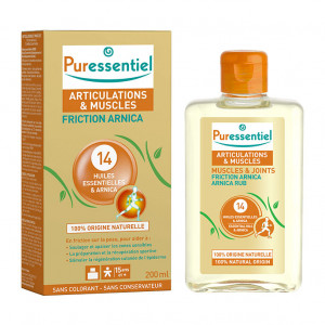 Puressentiel Friction Arnica aux 14 Huiles Essentielles & Arnica - 200 ml 3401560184341