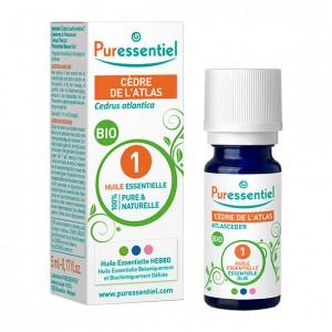 Puressentiel Cèdre de l'Atlas - Huile Essentielle BIO - 5 ml Cedrus atlantica 100% pure & naturelle