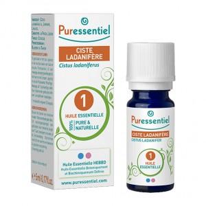 Puressentiel Ciste Ladanifère - Huile Essentielles BIO - 5 ml Cistus ladaniferus 100% pure et naturelle