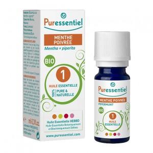 Puressentiel Menthe Poivrée - Huile Essentielle BIO - 30 ml Mentha piperita 100% pure & naturelle
