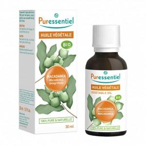 Puressentiel Huile Végétale - Macadamia BIO - 30 ml Macadamia integrifolia 100% pure & naturelle Massage