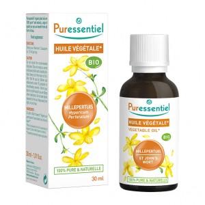 Puressentiel Huile Végétale - Millepertuis BIO - 30 ml Hypericum perforatum 100% pure & naturelle Usage alimentaire