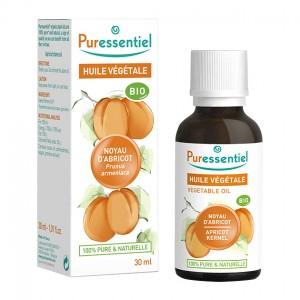 Puressentiel Huile Végétale - Noyau d'Abricot BIO - 30 ml Prunus armeniaca 100% pure & naturelle Usage alimentaire