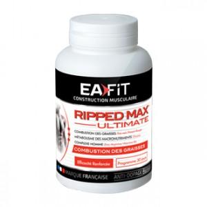 EA Fit Ripped Max Ultimate 120 Comprimés Combustion des graisses Efficacité renforcée Programme 30 jours