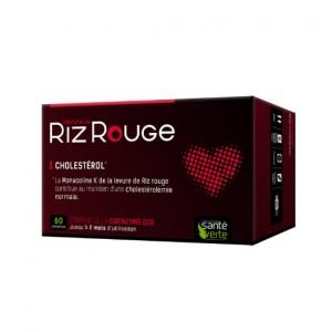 Levure de Riz Rouge + - 60 Comprimés - Santé verte - Hyperpara