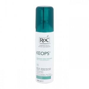 Roc Keops Déodorant Spray Fraîcheur 100 ml Efficacité 48 h Non parfumé