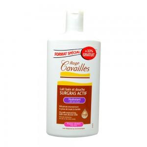 Rogé Cavaillès Lait Bain Douche Surgras Actif 400 ml +33% OFFERT Pour les peaux délicates et sèches 3596490004279