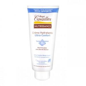 rogé cavaillès nutrissance crème hydratante ultra-confort 350 ml dont 50 ml offert nourrit la peau pour plus de douceur, peaux sensibles et sèches