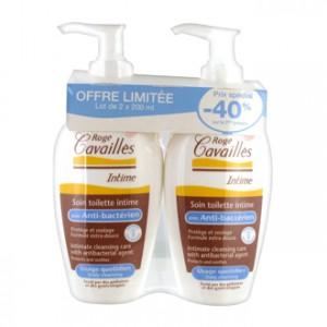 Soin Toilette Intime Anti-Bactérien Lot de 2 soit 2 x 200 ml -40% sur le 2ème produit